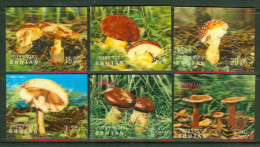 1973 Bhutan Funghi Mushrooms Champignons Three-dimensional  B288 - Bhutan