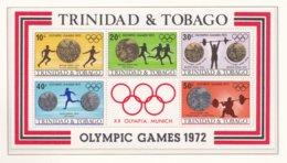 Trinidad & Tobago 1972 Olympic Games In München Souvenir Sheet MNH/** (H39) - Sommer 1972: München