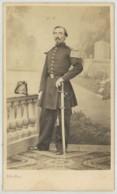 CDV Militaire 1860-70 Silli à Nice . Sous-lieutenant . 7 Sur Le Shako . - Photos