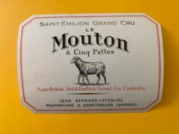 9489 - Le Mouton à Cinq Pattes Saint-Emilion - Bordeaux