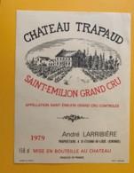 9495 - Château Trapaud 1979 150cl Saint-Emilion - Bordeaux