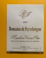 9496 - Château De Peyrelongue 1970 Saint-Emilion - Bordeaux