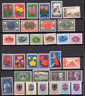 1955-58  Luxembourg, RTL, ONU, CECA, Grande Duchesse Charlotte, Caritas, Entre  490  Et 558**, Cote 250 € - Luxembourg