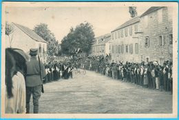 SINJ - Trka Alke 6.VIII ( Croatia ) * Travelled 1930's * Dalmatia Kroatien Croazia - Croatia
