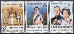 Bangladesch Bangladesh 1977 Geschichte History Königshäuser Royals Königin Elisbaeth II. Queen, Mi. 86-8 ** - Bangladesch