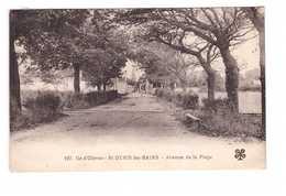 17 Ile D' Oleron St Saint Denis Les Bains Avenue De La Plage Cachet Oblitération Mecanique Valenciennes - Ile D'Oléron