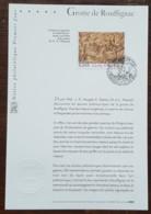 FDC Sur Document - YT N°3905 - GROTTE DE ROUFFIGNAC - 2006 - FDC