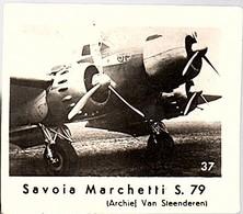Airplaines No # 47 Savoia Marchetti S.79 Pepermunt Van Slooten NV Leeuwarden, Serie 2 Luchtvaart Holland (CF-37) - Commerciële Luchtvaart