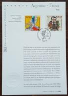 FDC Sur Document - YT N°3932, 3933 - LE TANGO / ANTONIO SEGUI / FRANCE ARGENTINE - 2006 - FDC