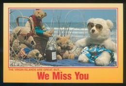 Islas Vírgenes. *...We Miss You...* Meds: 101 X 152 Mms. Nueva. - Juegos Y Juguetes