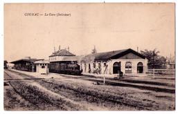 3661- Cognac ( 16 ) - La Gare ( Intérieur ) - édit. Des N - Cognac