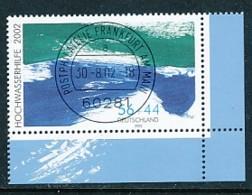 GERMANY Mi. Nr. 2278 A Hilfe Für Die Hochwassergeschädigten -ET Frankfurt - Eckrand Unten Rechts -siehe Scan - Used - Gebraucht