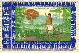 Lote Be13, Belize, 2007, Sello, Stamp, Abolition Of The Slave, Abolicion De La Esclavitud - Belice (1973-...)