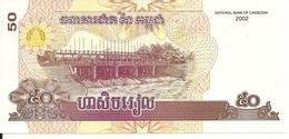 CAMBODGE 50 RIELS 2002 UNC P 52 - Cambodge