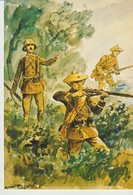 CP - TROUPES D'INDOCHINE - 1940 - 38 - AQUARELLE DE MAURICE TOUSSAINT - PIERRON - DONNER - MUSÉE DES TROUPES DE MARINE - Guerres - Autres