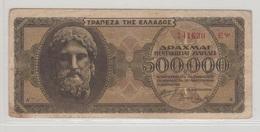 GRECE 500000 Drachmes 1944 P126a VF - Greece