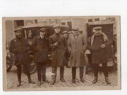 179 - AUBEL  - MMrs. HERRES - GEELEN - GILET - NISSEN - BEKERS * Marché Vers 1925   *carte-photo* - Aubel
