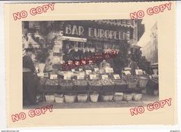 Fixe Marseille Place Foch Cinq Avenues Devanture Bar Européen Calambo Coquillages Huitres Huitre Ce Soir Loto ! - Professions