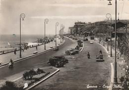 8151.   Genova - Corso Italia - Auto Car Vespa Animata Per Vada 1952 - Genova (Genoa)