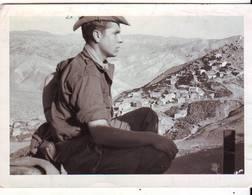 Photo Militaire Guerre D'algerie 10x7cm - Krieg, Militär