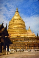 Nyaung U Burma - Built By King Anawrahta And Completed By King Kyanzittha - Formato Grande Viaggiata – E 9 - Cartoline
