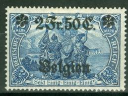 Landespost In Belgien 9 * - Occupation 1914-18