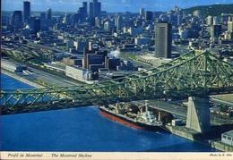 Profil De Montreal - The Montreal Skyline - Canada - Formato Grande Viaggiata Mancante Di Affrancatura – E 9 - Cartoline