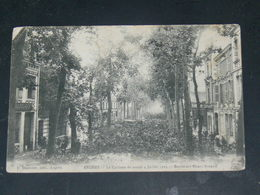 ANGERS   1905   CYCLONE SUR BOULEVARD   / CIRC /  EDITION - Angers