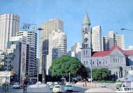 Sao Paulo - View Of Concolacao Chiurch - Formato Grande Viaggiata Mancante Di Affrancatura – E 9 - Cartoline