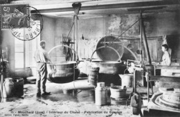 Mouchard Fabrication Du Gruyere - France