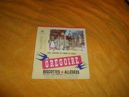 BUVARD ANCIEN GREGOIRE BISCOTTES ALLEGEES AVEC ADDITION DE FARINE DE GRUAU. LES HOSPICES DE BEAUNE. - Biscottes