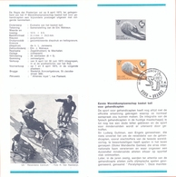 Belgium Postfolder Nr. 4 - 1973 1666  Basket Brugge - Documents De La Poste