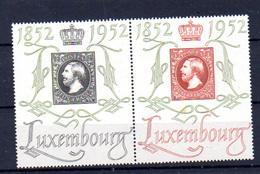 1952  Luxembourg,100° Du Timbre, Expo Centilux, 454 A** (1 Encre Ou Rouille Au 454), Cote 120 €, - Luxembourg