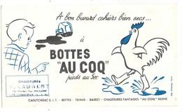 """BUVARD Bottes """"AU COQ"""" Pieds Au Sec - Tampon Chaussures A. Laurent à COULOMMIERS - Chaussures"""