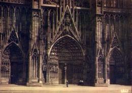 Strasbourg - Bas Rhin - Les Trois Portails - Formato Grande Non Viaggiata – E 9 - Cartoline