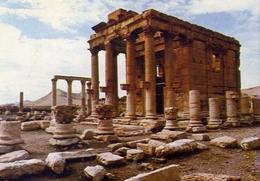Syria - Palmyra - Baalshmin's Temple - Formato Grande Viaggiata – E 9 - Cartoline