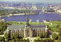 The Nordiska Museum On South - Formato Grande Viaggiata – E 9 - Cartoline