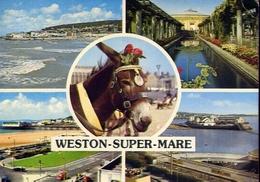 Weston - Super Mare - Formato Grande Viaggiata – E 9 - Cartoline