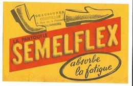 BUVARD La Pantoufle SEMELFLEX - Tampon Chaussures CENDRILLON à COULOMMIERS - Chaussures