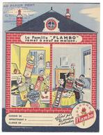 "PROTEGE-CAHIERS - La Famille ""FLAMBO"" Remet à Neuf Sa Maison - Protège-cahiers"