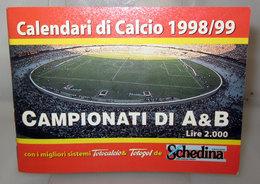 CALENDARIO CALCIO SERIE A  1998-99 - Calendari