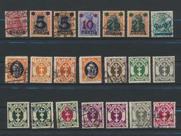 Danzig - Dantzig  Collection Oblitérés /MH/(MH)  103 Timbres - Dantzig