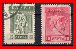 GRECIA – GREECE  2  SELLOS  AÑO 1913-23 - Grecia