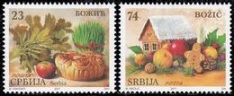 Serbia, 2017, Christmas, Set, MNH, Mi# 754/55 - Serbie