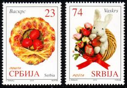 Serbia, 2018, Easter, Set, MNH, Mi# - Serbie