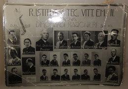 R. ISTITUTO TEC. VITT. EM. II GENOVA DIPLOMANDI RAGIONIERI SEZ A-B 1941 - Persone Identificate