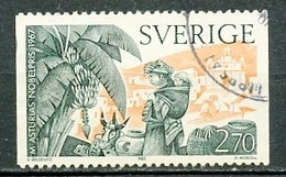 Suède - Schweden - Sweden 1985 Y&T N°1348 - Michel N°1366 (o) - 2,70k  A Asturias - 1910-... République
