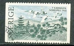 Suède - Schweden - Sweden 1985 Y&T N°1349 - Michel N°1367 (o) - 2,70k Y Kawabata - Oblitérés