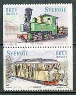 Suède - Schweden - Sweden 2006 Y&T N°2493 à 2494 - Michel N°2510 à 2511 (o) - Locomotives - Suède