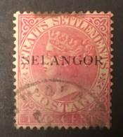 SELANGOR  - (0)  - 1886-1889 - # 11 - Selangor